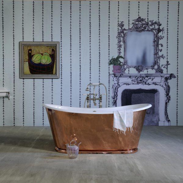 Freistehende Kupfer Badewannen Luxbathde
