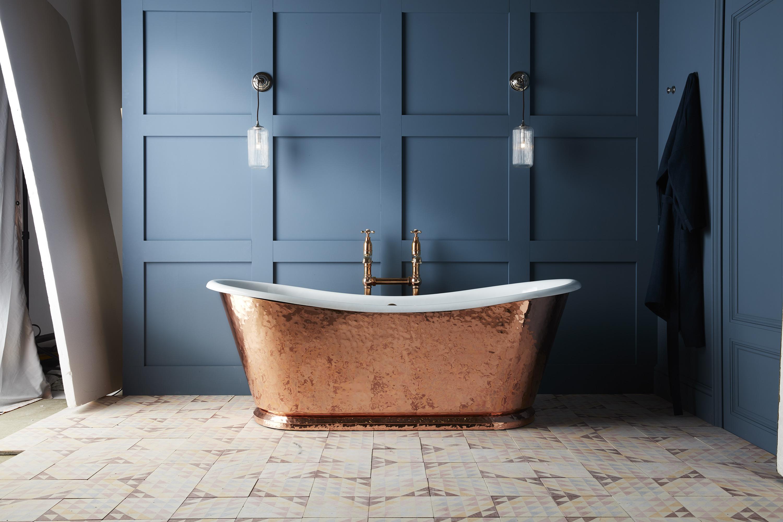 Wye Große Badewanne Aus Gusseisen Kupfer Luxbathde